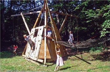 Diy Kid Play Structure
